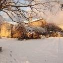 Neige de janvier à  la ferme du désert Vaucluse