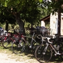 Vélo à la ferme du désert Vaucluse